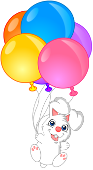 Rabbit balloons