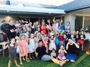 Even grown up join in our fun! They are never too old for silly faces... Kids Parties Gold Coast the Perfect Children's Entertainer!